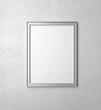 silver blank frames