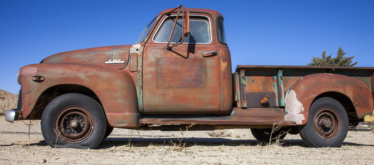 Oldtimer Pickup in USA