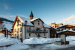 Evening in the Village of Megeve in French Alps, France - 50257922