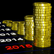 Coins On 2015 Shows Monetary Expectations