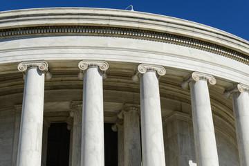 Pillars of the Jefferson Memorial