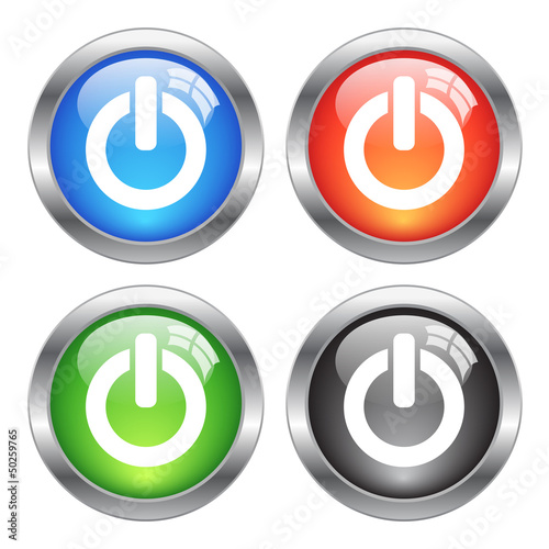 Vector power buttons