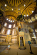 Mimbar and Mihrab in the Hagia Sophia