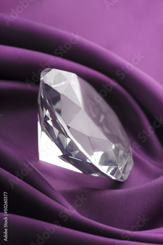 Diamond and Silk Fabric