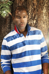 Male model fashion