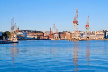 West harbor of Helsinki, Finland