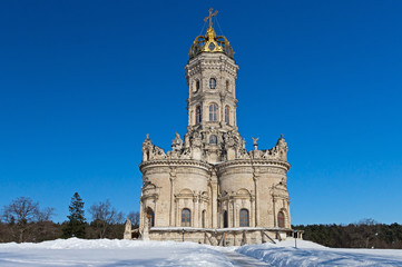 Znamensky church in Dubrovitsy, Russia
