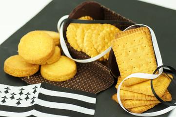 assortiment de gâteaux secs bretons 1