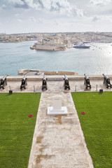 Valletta Canons, Malta on Remembrance Day