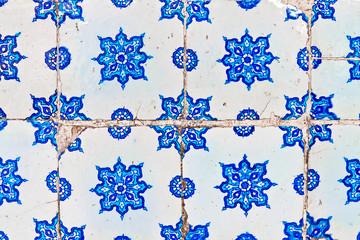 Handmade Turkish Blue Tile
