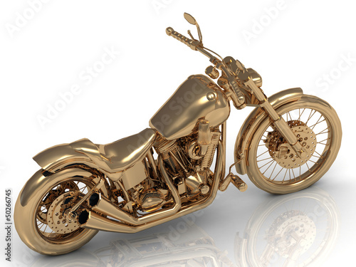 Motorcycle golden conceptual model