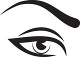 woman eye and brow poster