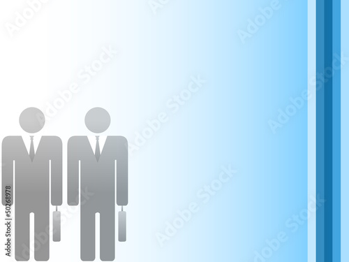 Office people background