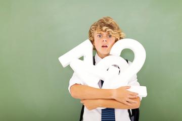 high school stundent feeling hopeless in mathematics