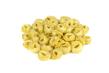 Tortellini, fresh egg pasta, italian food