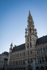 Town hall in the Grand Place, Brussels