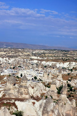 stone formations, Cappadocia, Turkey