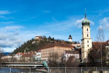 Schlossberg hill, Graz, Austria.