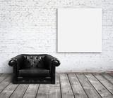 Fototapety sofa in room