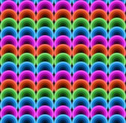 Neon glow pattern