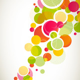 Fototapety Vector Illustration of an Abstract Background