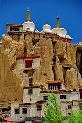 Lamayuru buddhist monastery in Ladakh in the north India.