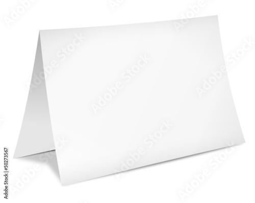 blatt papier karte gefaltet stockfotos und lizenzfreie vektoren auf bild 50273567. Black Bedroom Furniture Sets. Home Design Ideas