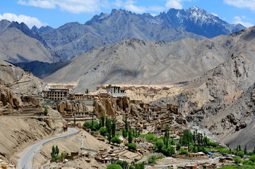 Lamayuru village in Ladakh, north India