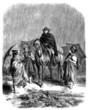 Peasants : under the Rain - 19th century