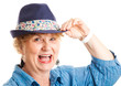 Middle-aged Woman - Happy Laughing