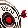 Deal Shows Bargain Or Partnership Agreement