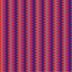 Wavy purple stripes background
