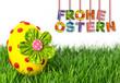 Frohe Ostern Konzept