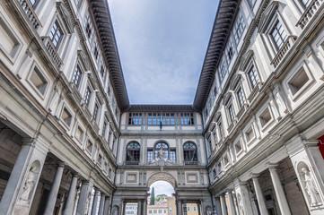 Galleria degli Uffizi museum in Florence, Italy