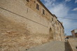 Visit at Moresco, Fermo county, exterior walls