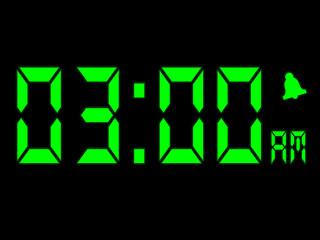 Early Morning Alarm Call At Three AM