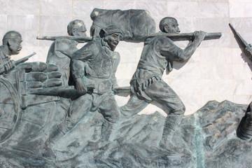 Çanakkale Savaşlarını Anlatan Rölyef