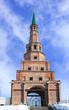 Leinwandbild Motiv The Soyembika tower in the Kazan Kremlin, Tatarstan, Russia