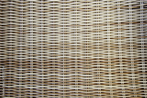 Wicker and bamboo background