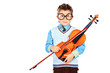 boy with violin