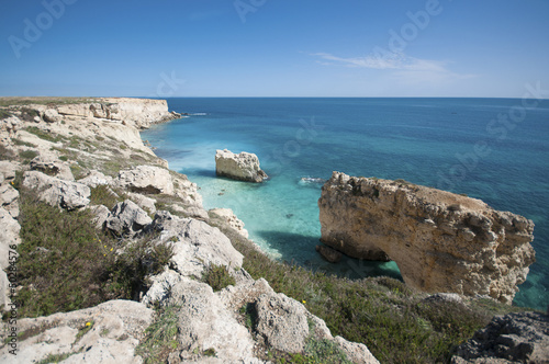Siracusa Northern Coast. Siracusa is in Sicily, Italy.