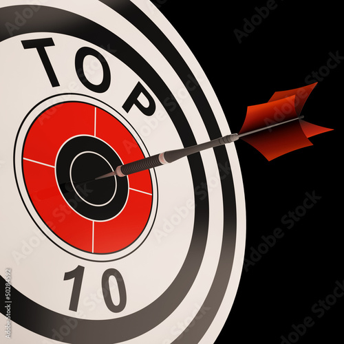 Top Ten Target Shows Best Selected Result
