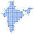 インド 地図 円