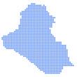 イラク 地図 円