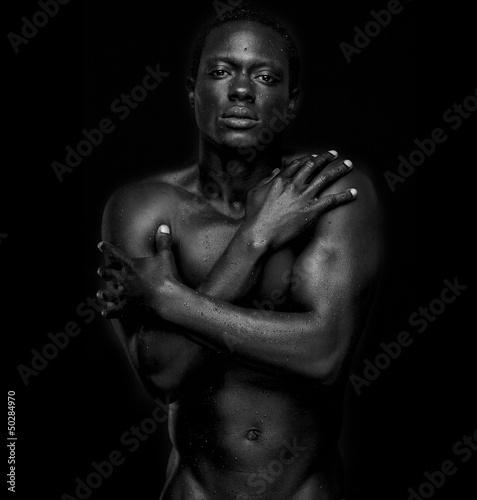 Fototapeten,männlich,körper,african-american,afrikanisch