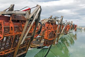 Draghe idrauliche per pesca vongole