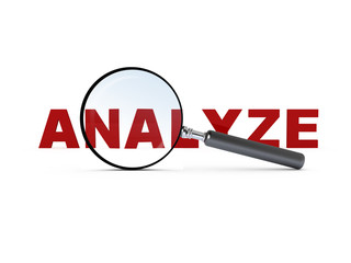 Magnifying Glass and Analyze