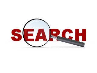 Magnifying Glass and Search