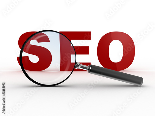 Magnifying Glass and SEO