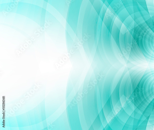 business concept, turquoise, emerald blue background